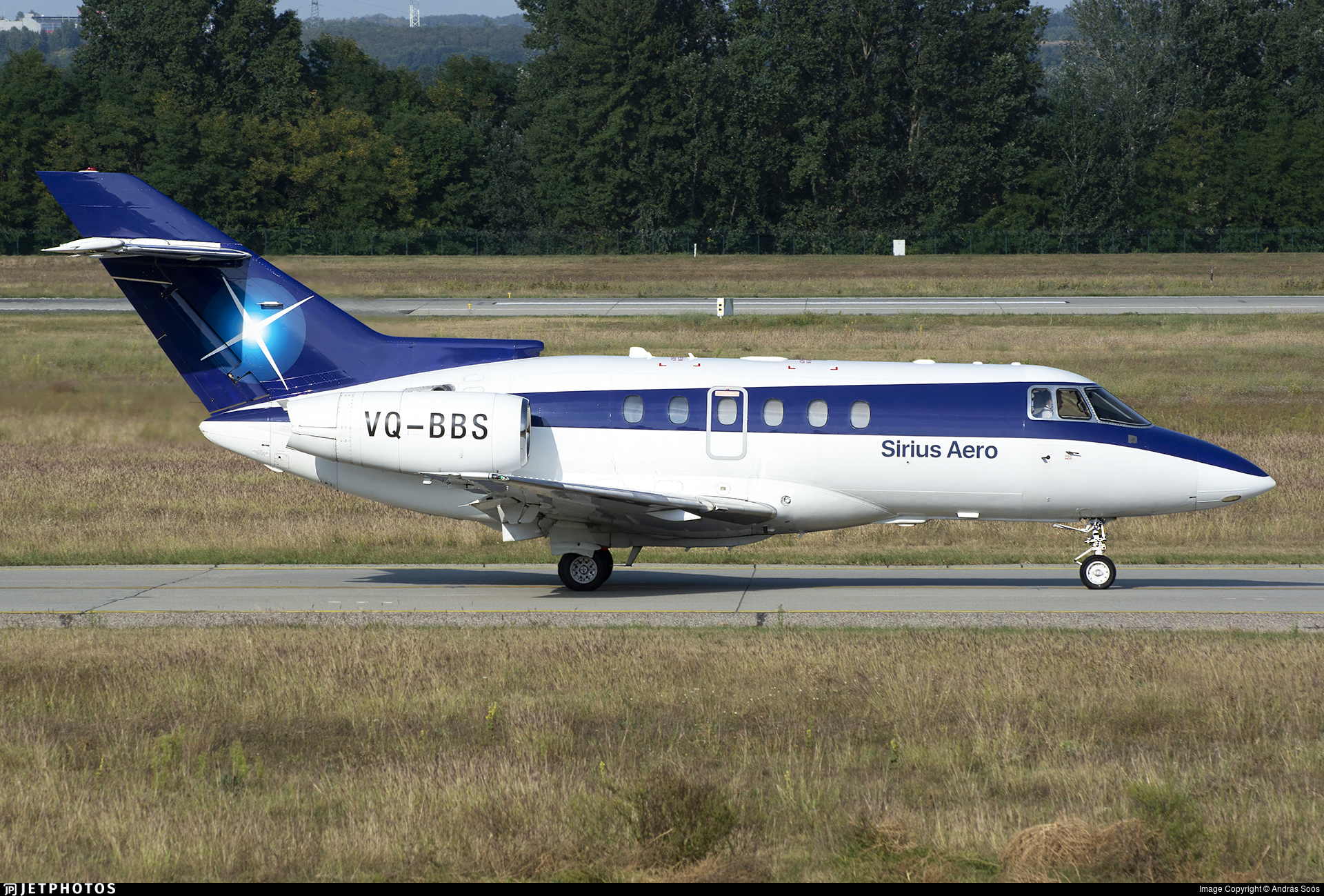 VQ-BBS - Raytheon Hawker 750 - Sirius Aero