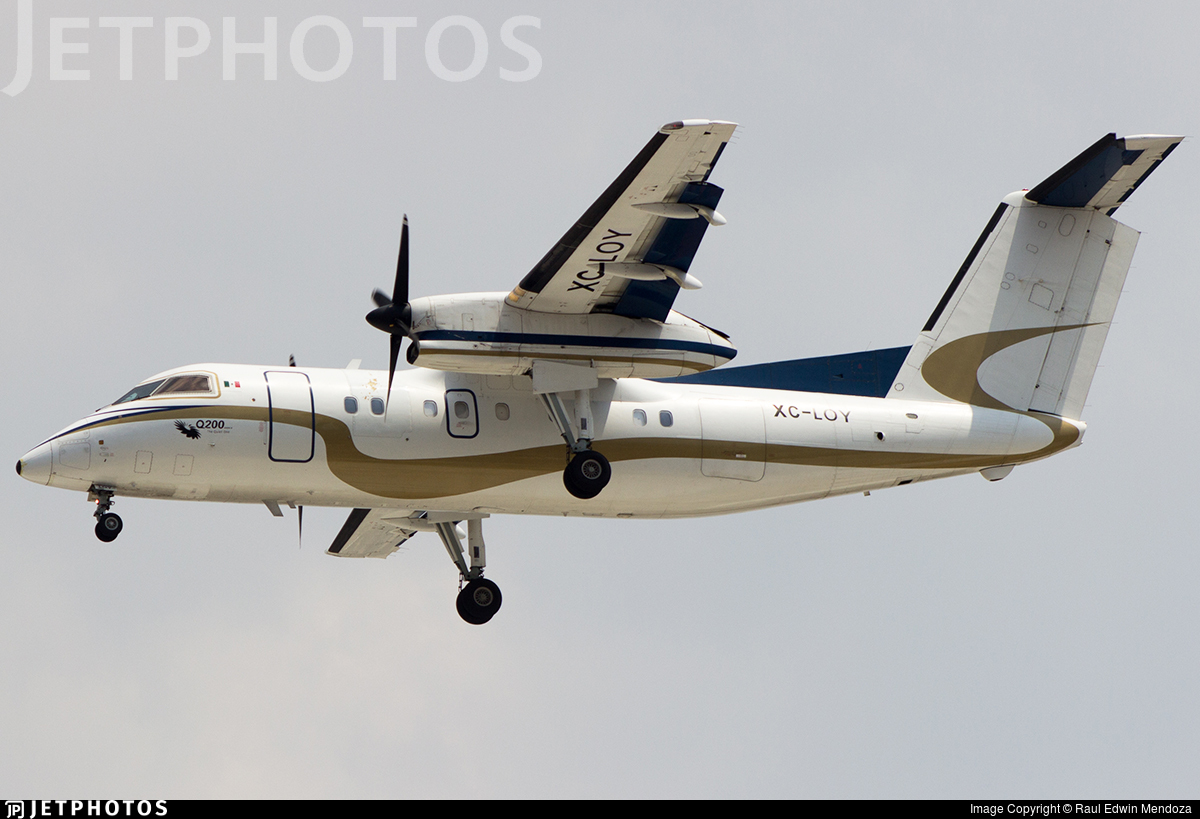 XC-LOY - Bombardier Dash 8-Q201 - Mexico - Government