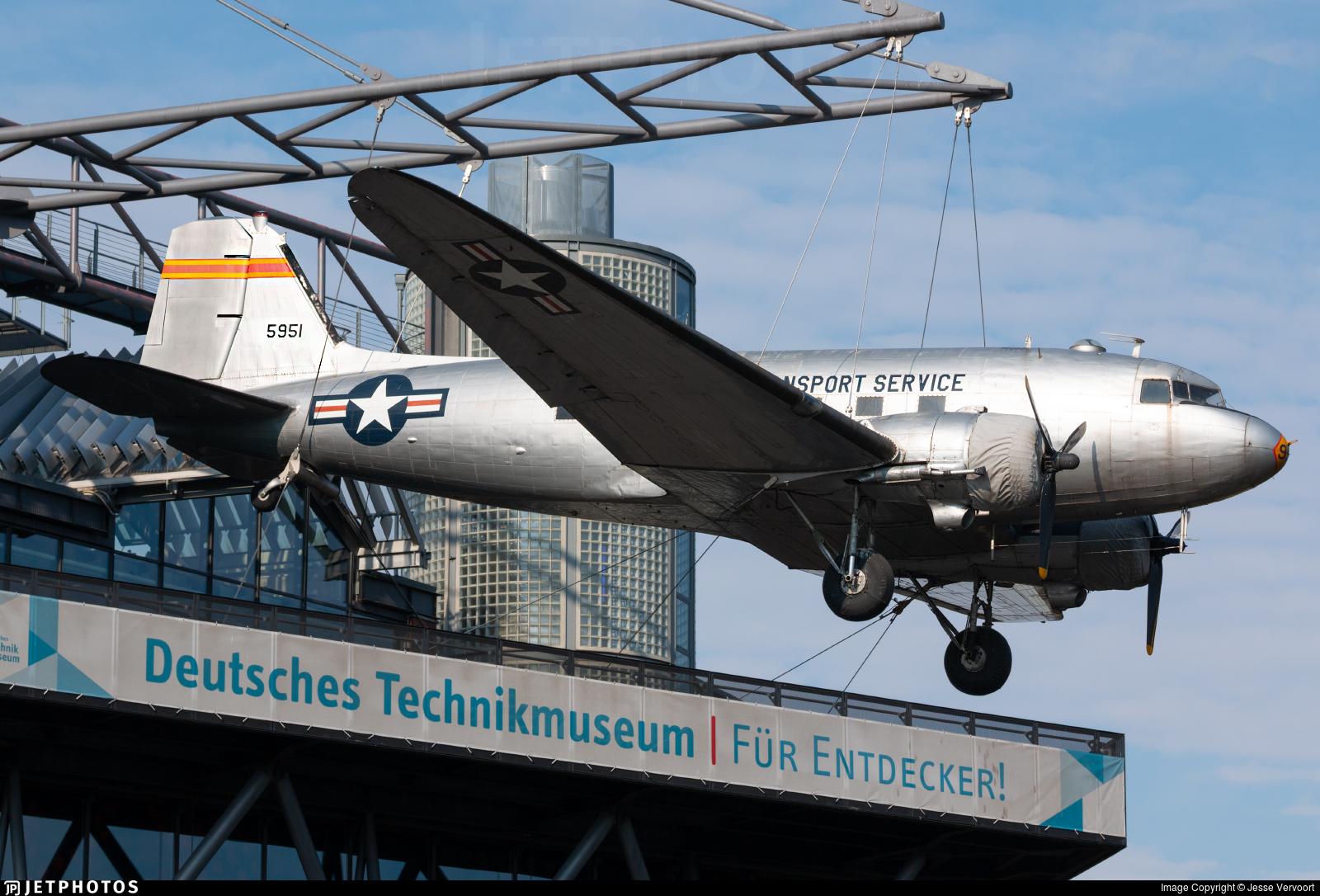 45-0951 - Douglas C-47B Skytrain - United States - US Air Force (USAF)