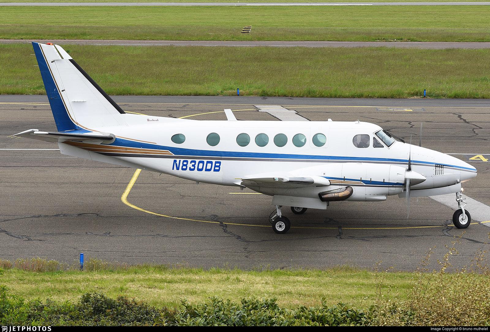 N830DB - Beechcraft A100 King Air - Private