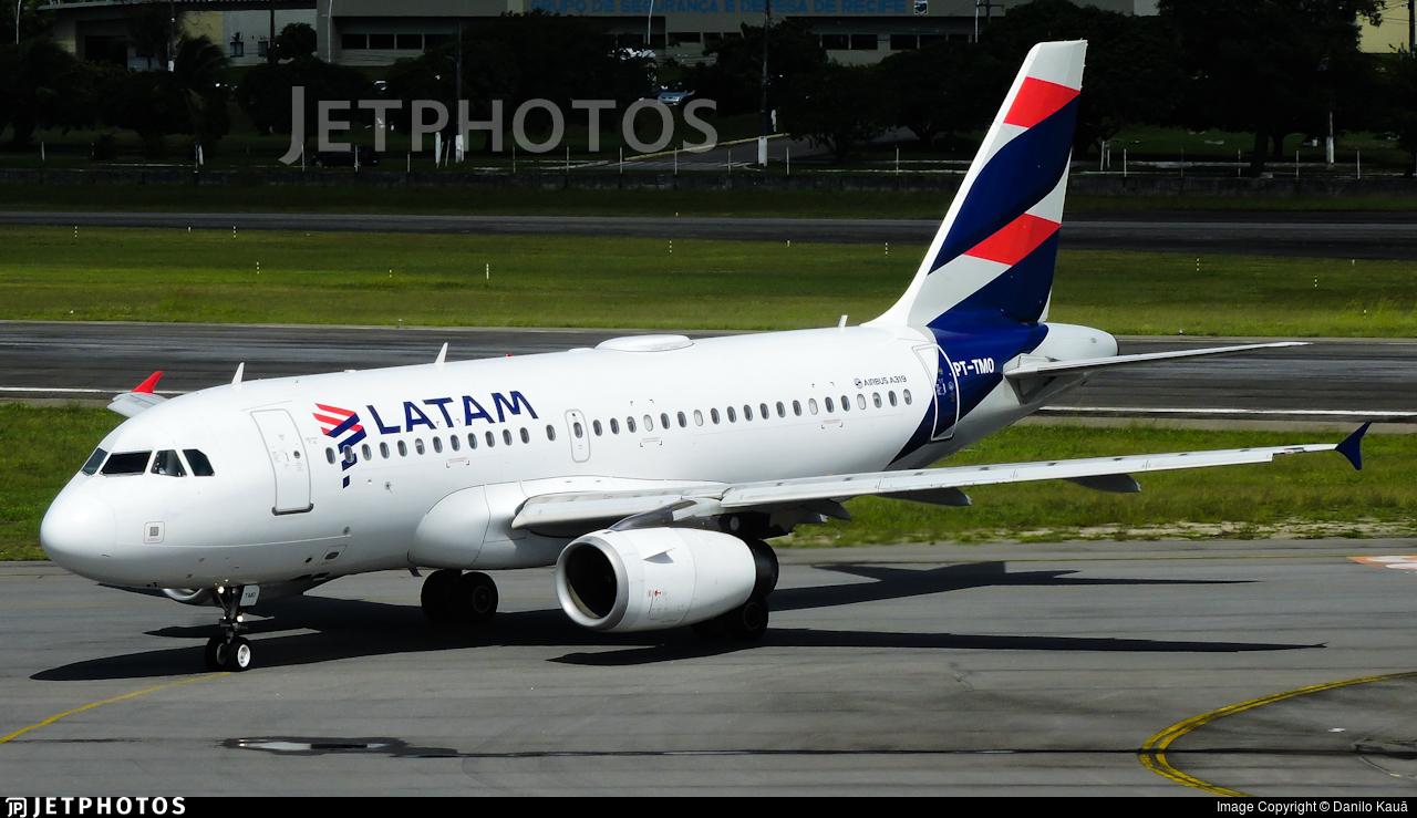 PT-TMO - Airbus A319-112 - LATAM Airlines
