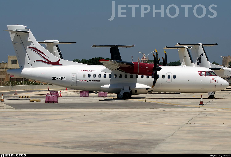 OK-KFO - ATR 42-500 - Afrijet