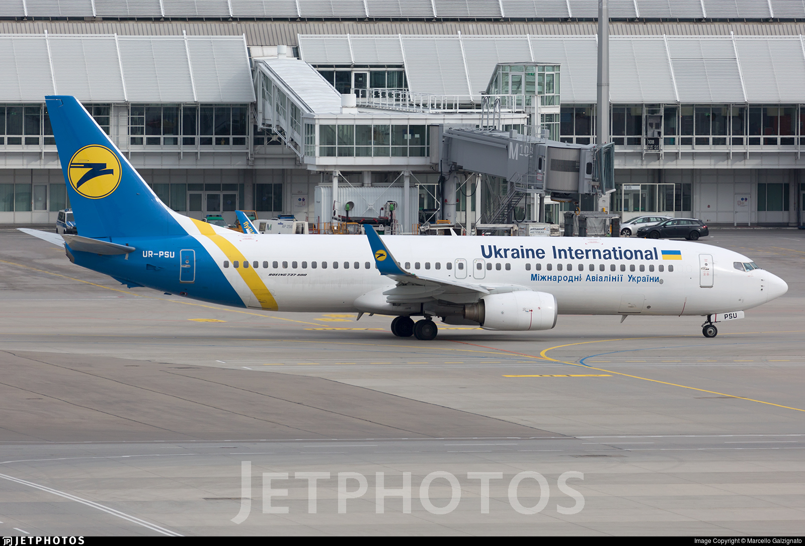 UR-PSU - Boeing 737-8AS - Ukraine International Airlines