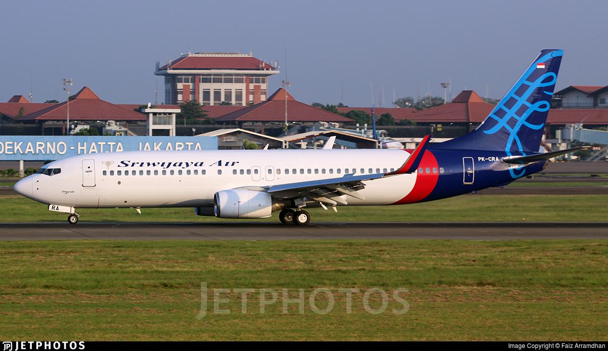 PK-CRA - Boeing 737-86N - Sriwijaya Air