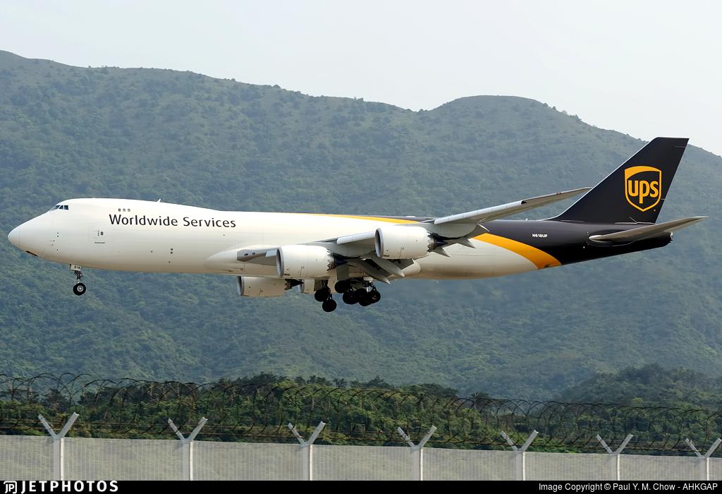 N618UP - Boeing 747-84AF - United Parcel Service (UPS)