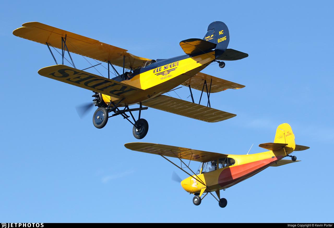 NC6085 - Curtiss-Wright Travel Air 4000 - Private