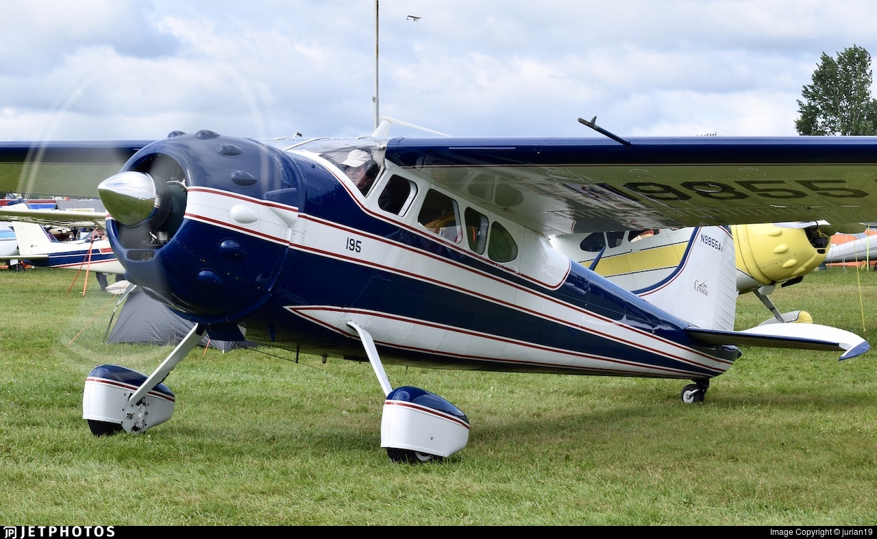 N9855A - Cessna 195A - Private