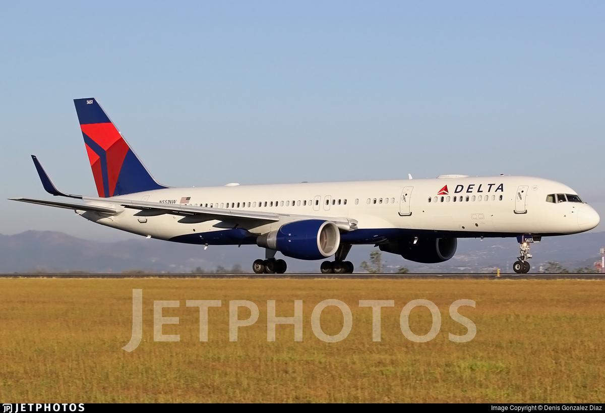 N551NW - Boeing 757-251 - Delta Air Lines