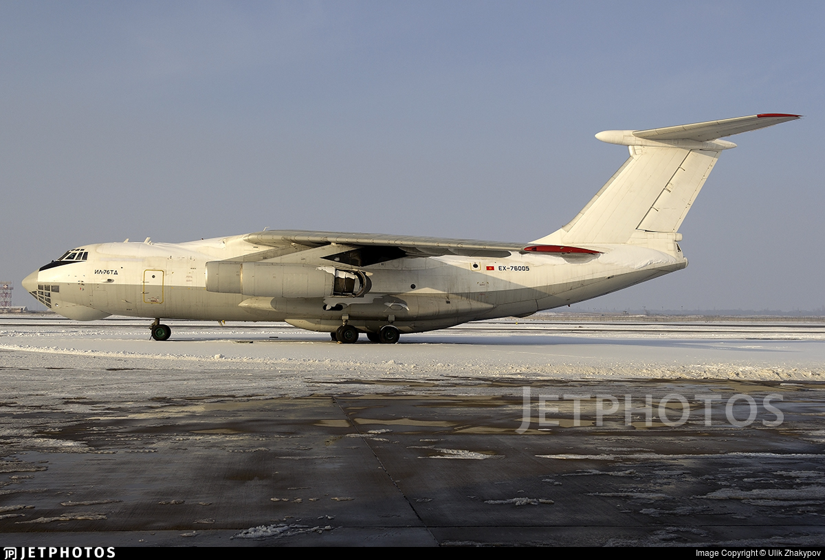 EX-76005 - Ilyushin IL-76TD - Sapsan