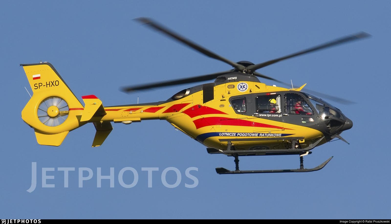 SP-HXO - Eurocopter EC 135P2+ - Lotnicze Pogotowie Ratunkowe