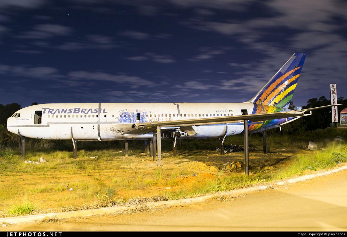 PT-TAC - Boeing 767-2Q4 - Transbrasil