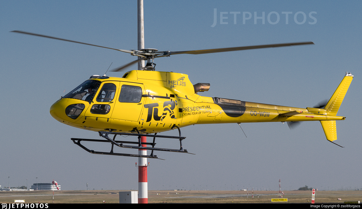 OO-WGW - Eurocopter AS 350B3 Ecureuil - Héli and Co