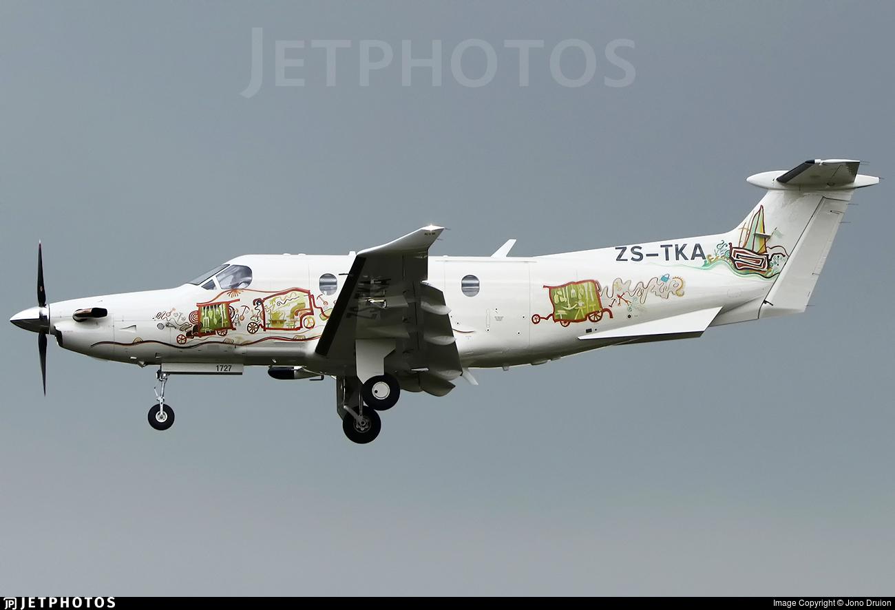 ZS-TKA - Pilatus PC-12/47E - Fireblade Aviation