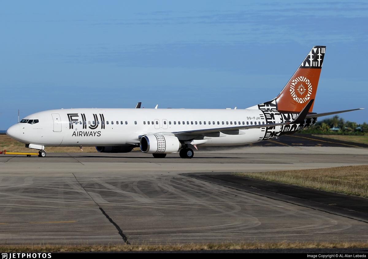 DQ-FJH - Boeing 737-8X2 - Fiji Airways