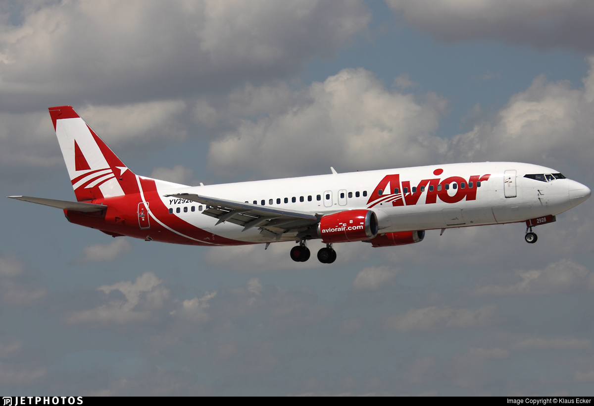 YV2928 - Boeing 737-401 - Avior Airlines