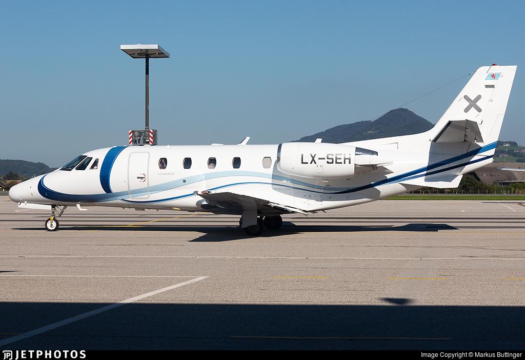 LX-SEH - Cessna 560XL Citation XLS - Luxaviation