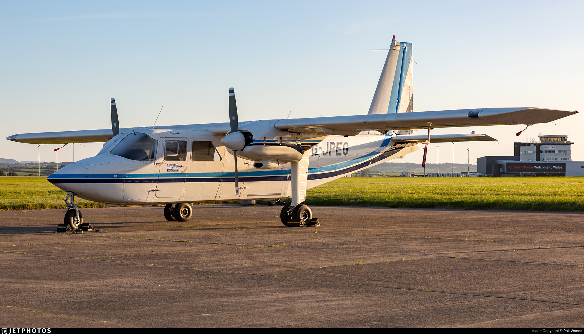 G-JPEG - Britten-Norman BN-2B-20 Islander - Private