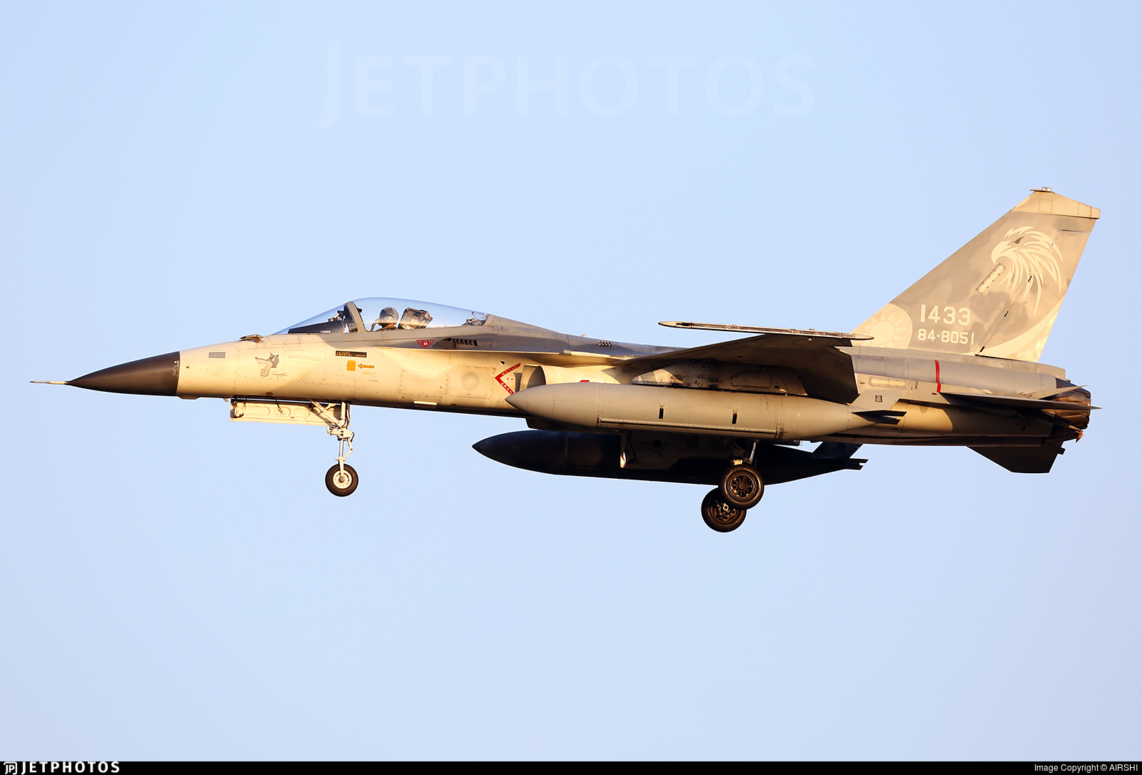 1433 - AIDC F-CK-1C Ching Kuo - Taiwan - Air Force