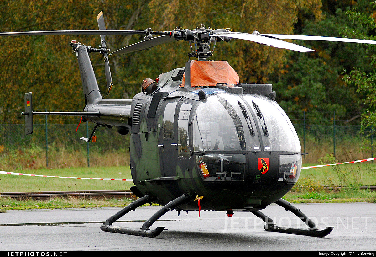 86-46 - MBB Bo105P1 - Germany - Army
