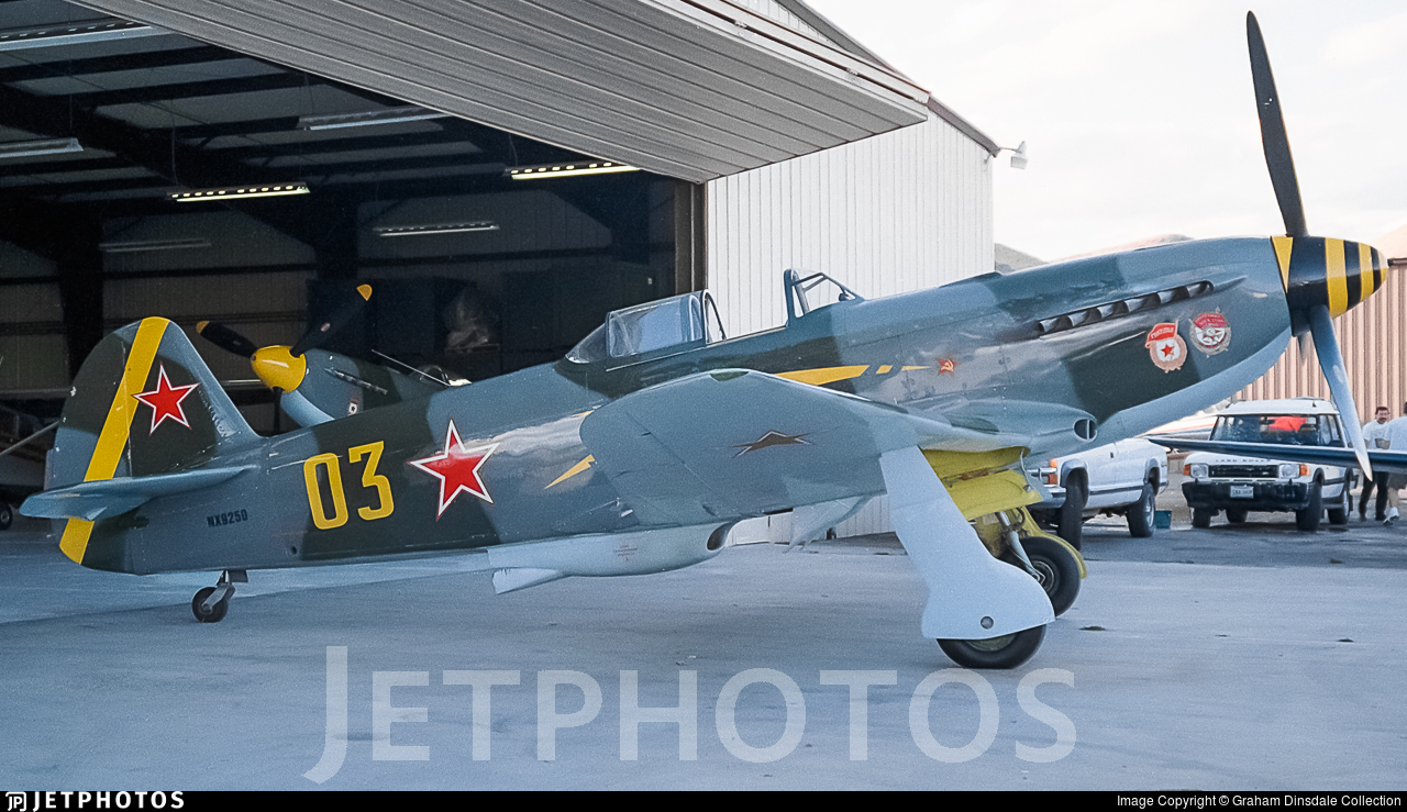 NX9250 - Yakovlev Yak-9U-M - Private