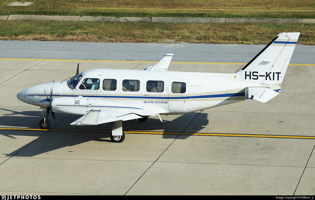 HS-KIT - Piper PA-31-350 Chieftain - Private