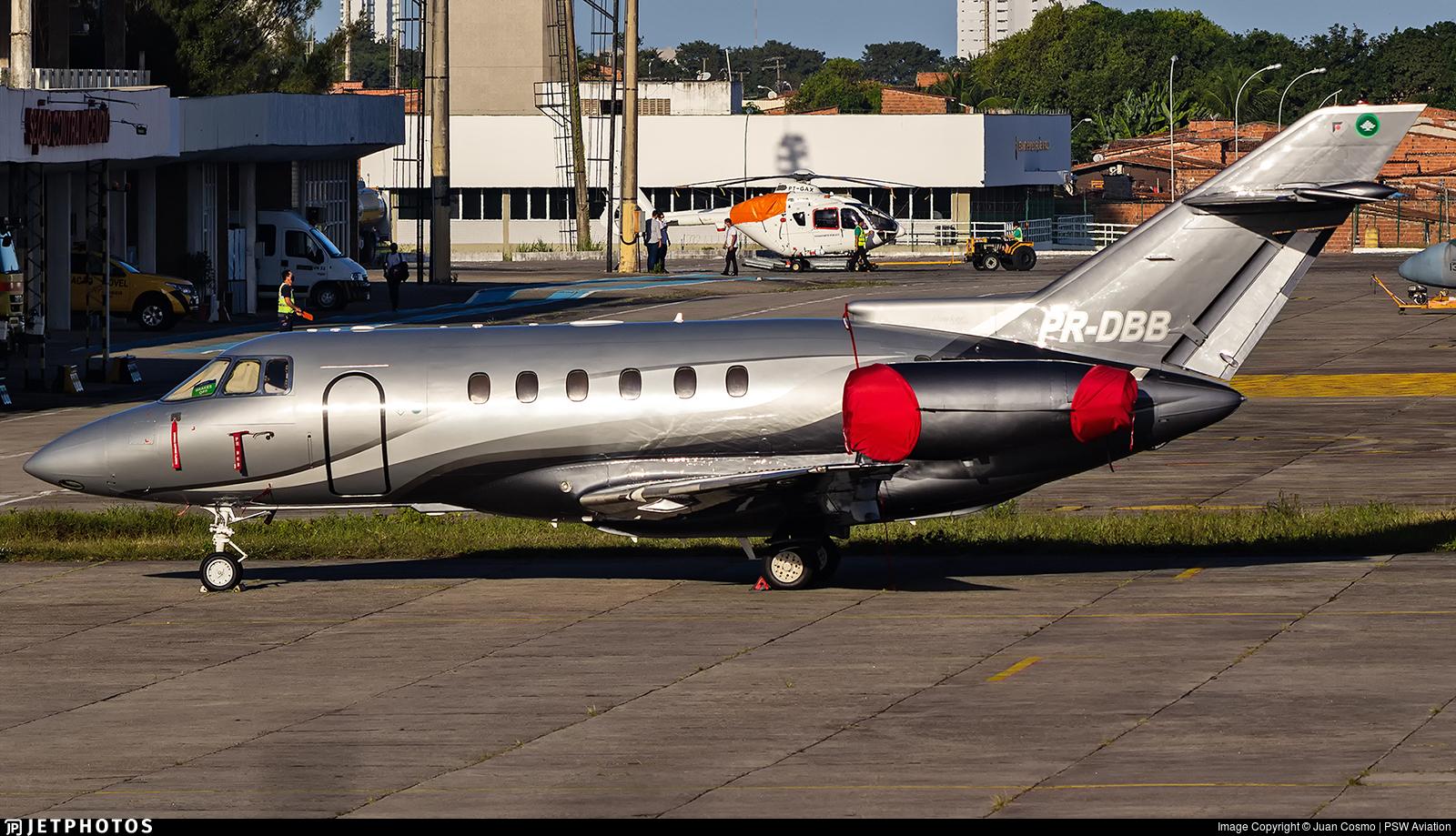 PR-DBB - Raytheon Hawker 800XP - Private