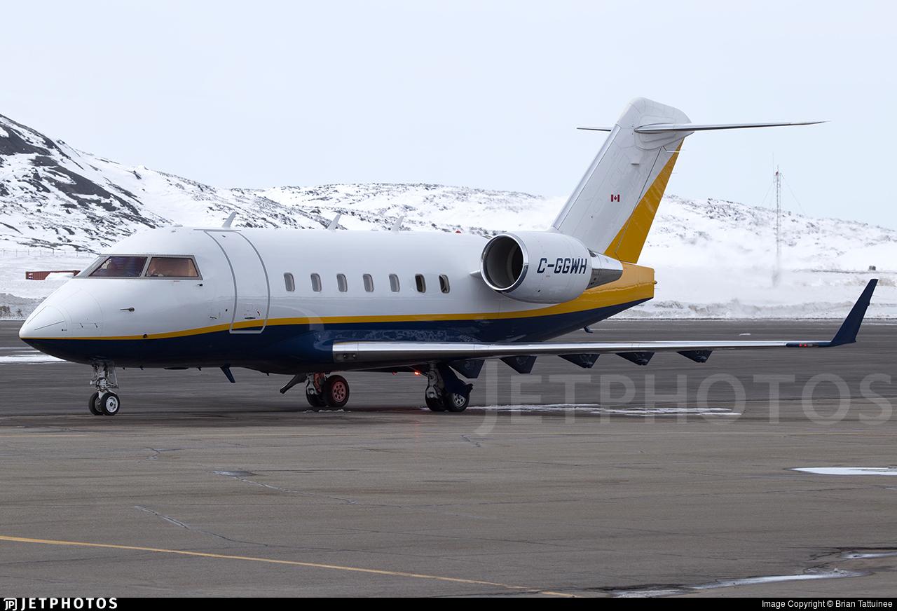 C-GGWH - Bombardier CL-600-2B16 Challenger 604 - Sunwest Aviation