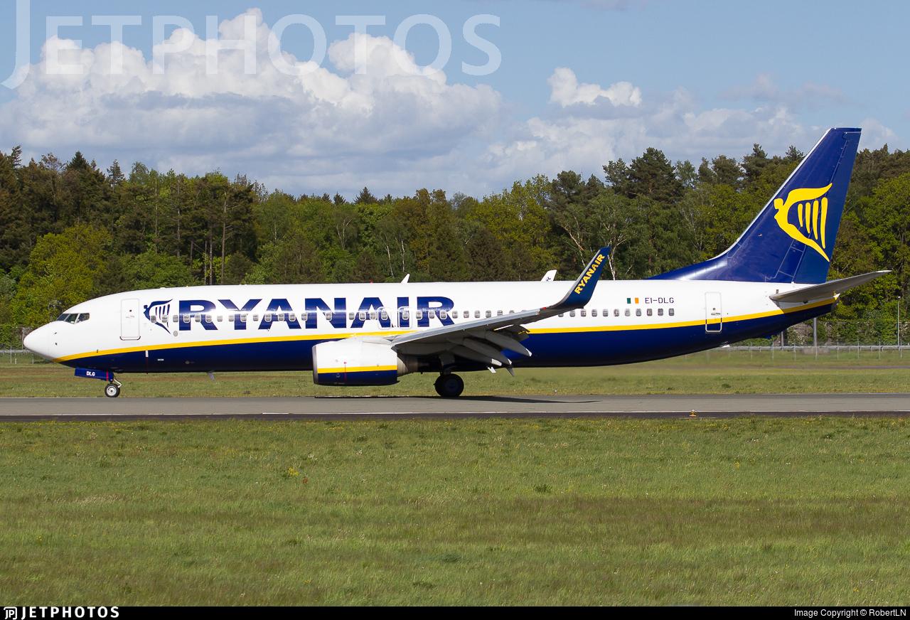 EI-DLG - Boeing 737-8AS - Ryanair