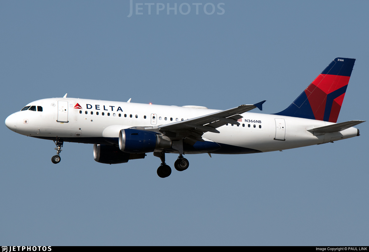 N366NB - Airbus A319-114 - Delta Air Lines