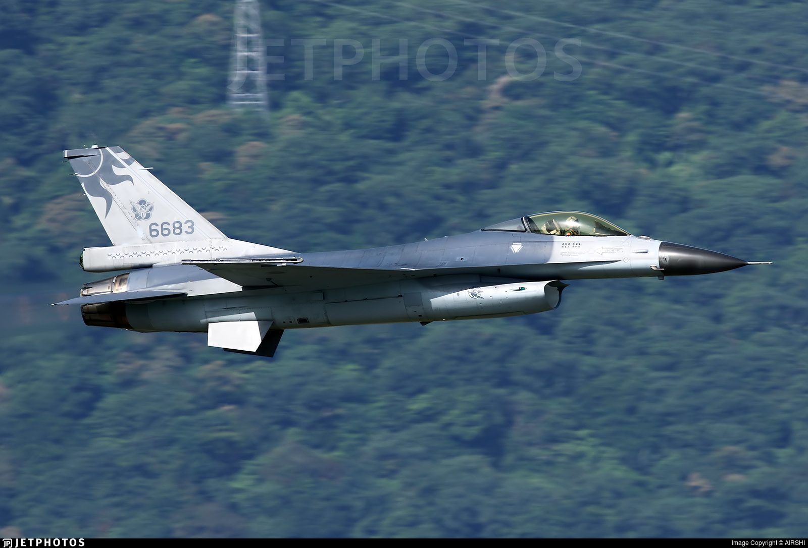 6683 - General Dynamics F-16AM Fighting Falcon - Taiwan - Air Force