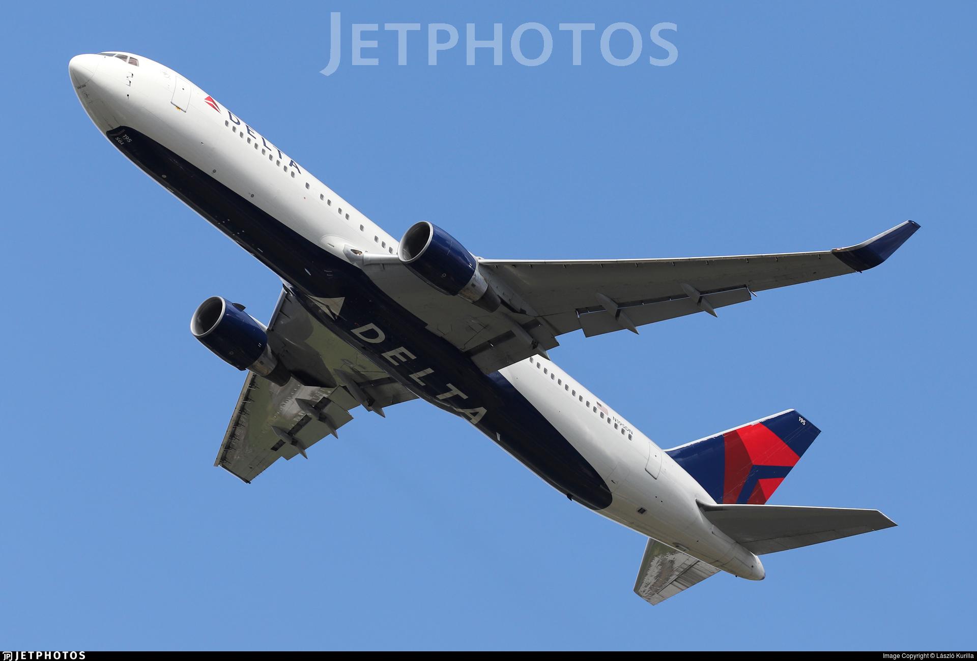 N195DN - Boeing 767-332(ER) - Delta Air Lines