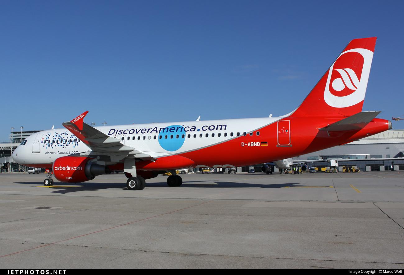 D-ABNB | Airbus A320-214 | Air Berlin | Marco Wolf | JetPhotos