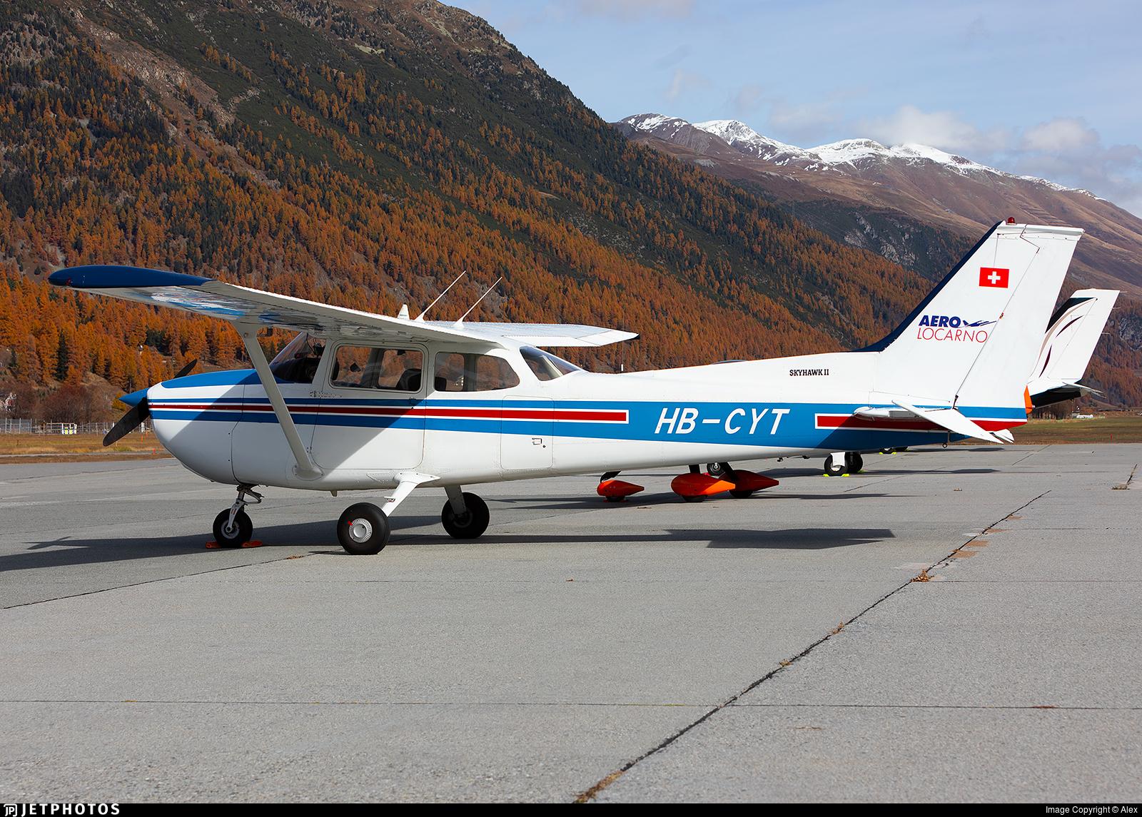 HB-CYT - Reims-Cessna F172M Skyhawk II - Aero Locarno