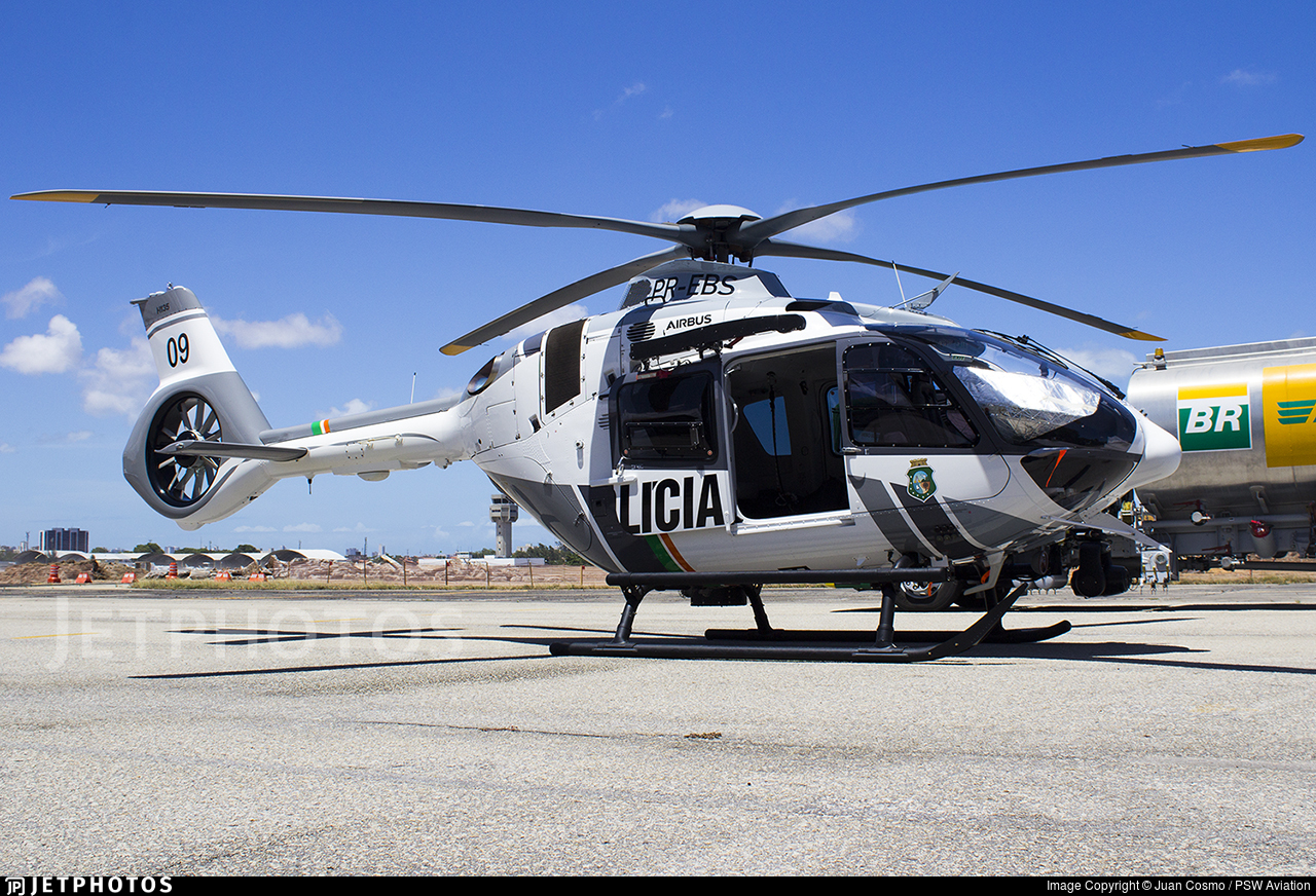 PR-EBS - Airbus Helicopters H135 - Brazil - CIOPAER Ceará
