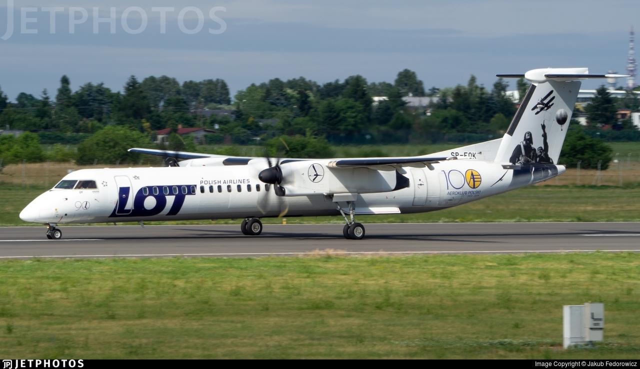 SP-EQK - Bombardier Dash 8-Q402 - LOT Polish Airlines