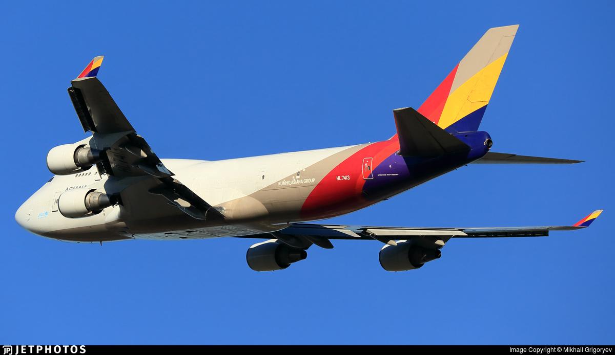 HL7413 | Boeing 747-48E(BDSF) | Asiana Cargo | Mikhail ...