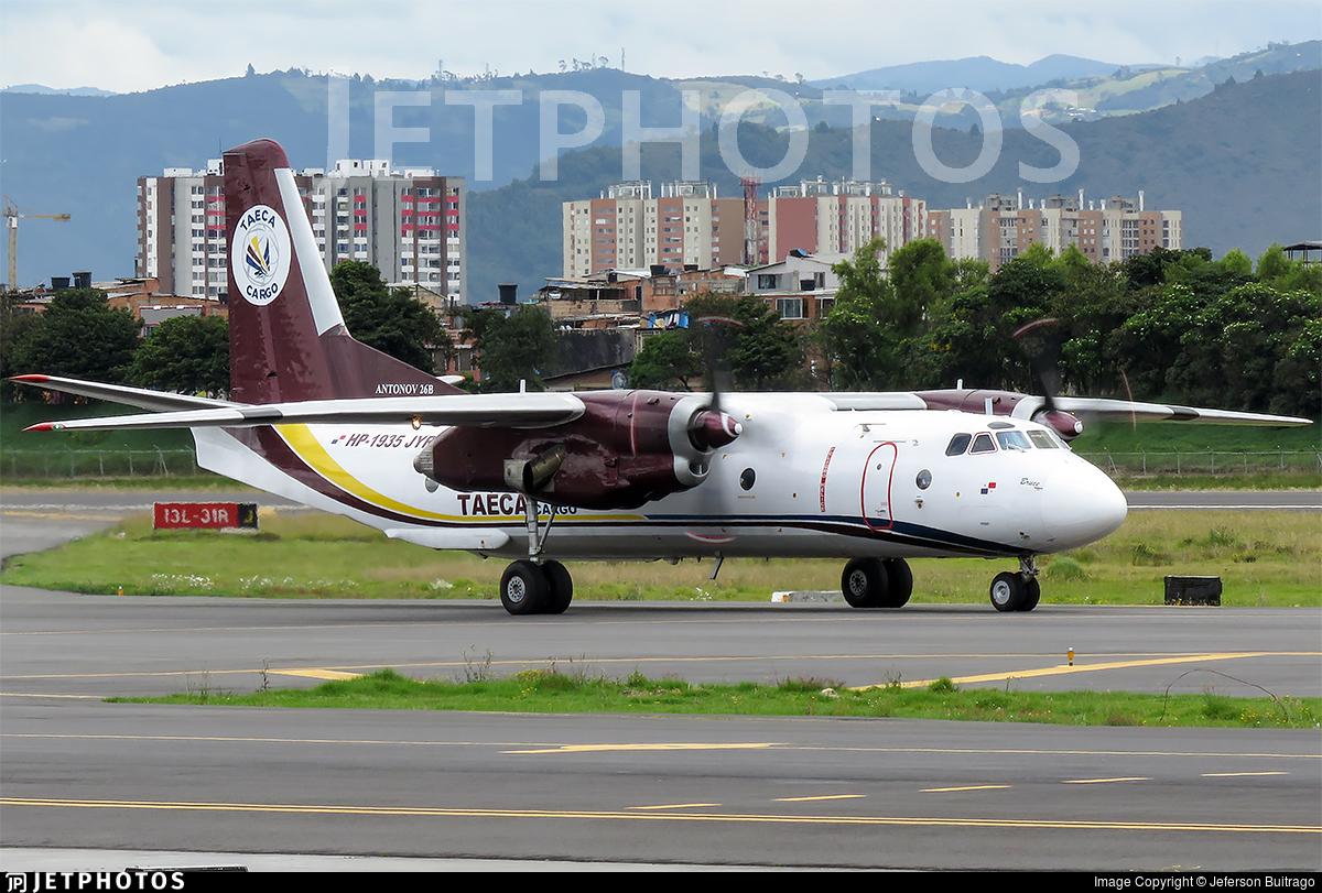HP-1935JYR - Antonov An-26B - Taeca Cargo