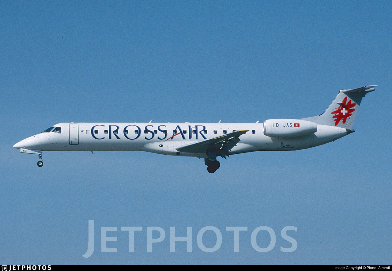 HB-JAS - Embraer ERJ-145LR - Crossair
