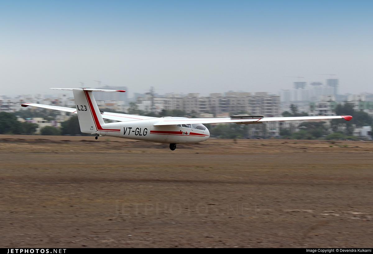 VT-GLG - Let L-23 Super Blanik - India - Civil Aviation Department
