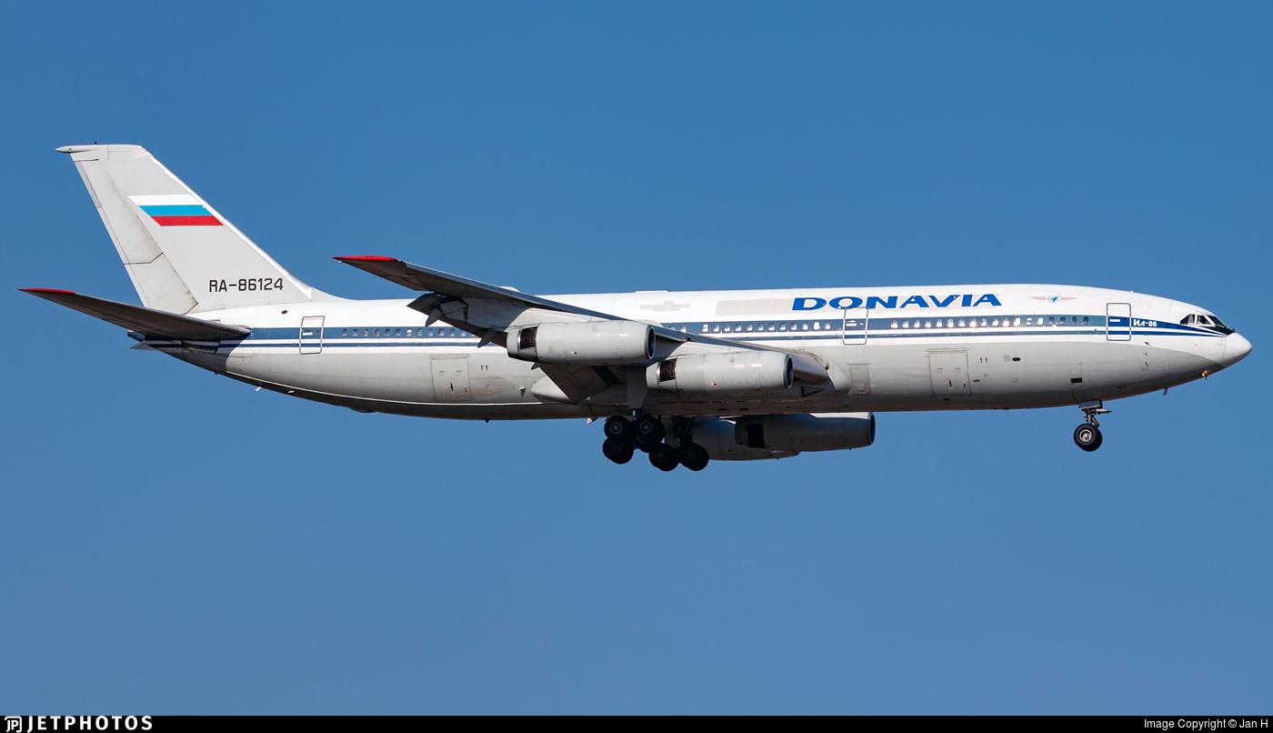 RA-86124 - Ilyushin IL-86 - Donavia
