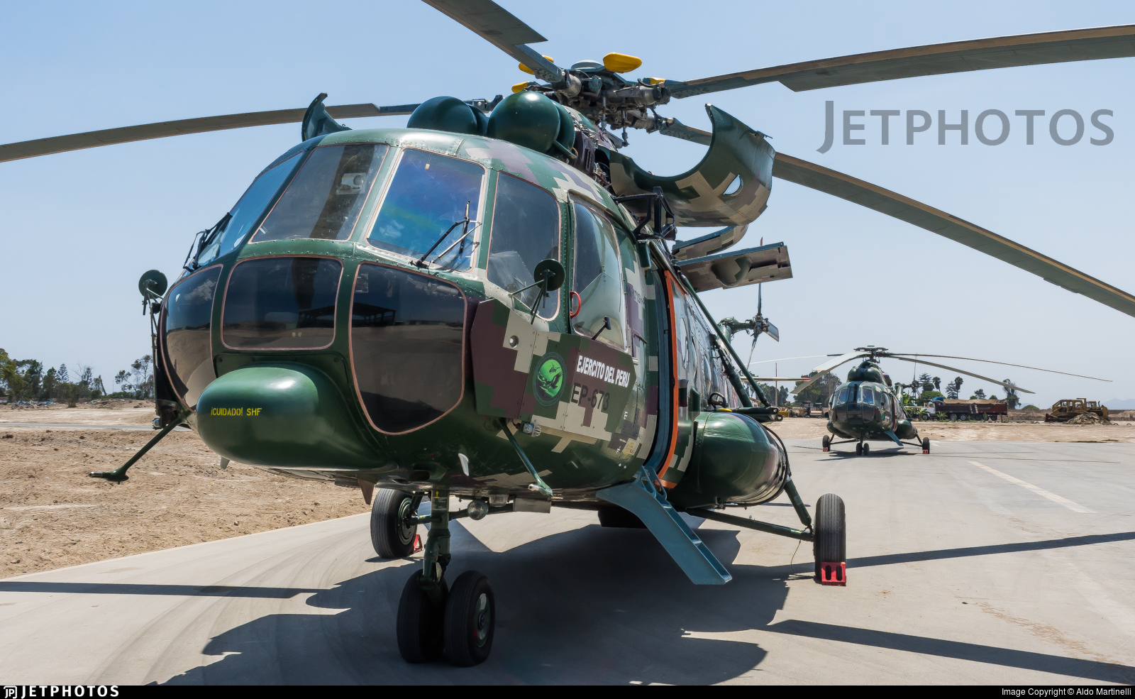 EP-673 - Mil Mi-171Sh-P - Perú - Army