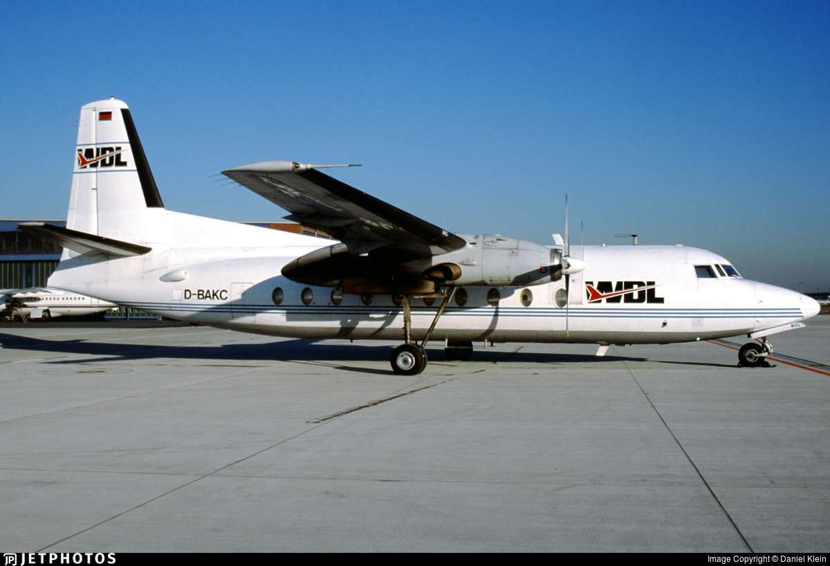 D-BAKC - Fokker F27-600 Friendship - WDL Aviation