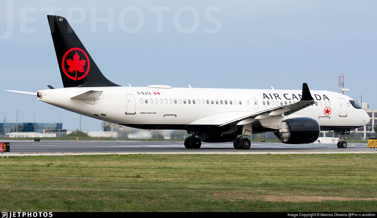 C-GJYA - Airbus A220-371 - Air Canada