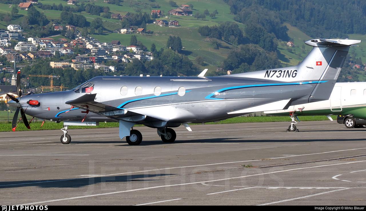 N731NG - Pilatus PC-12/47E - Private
