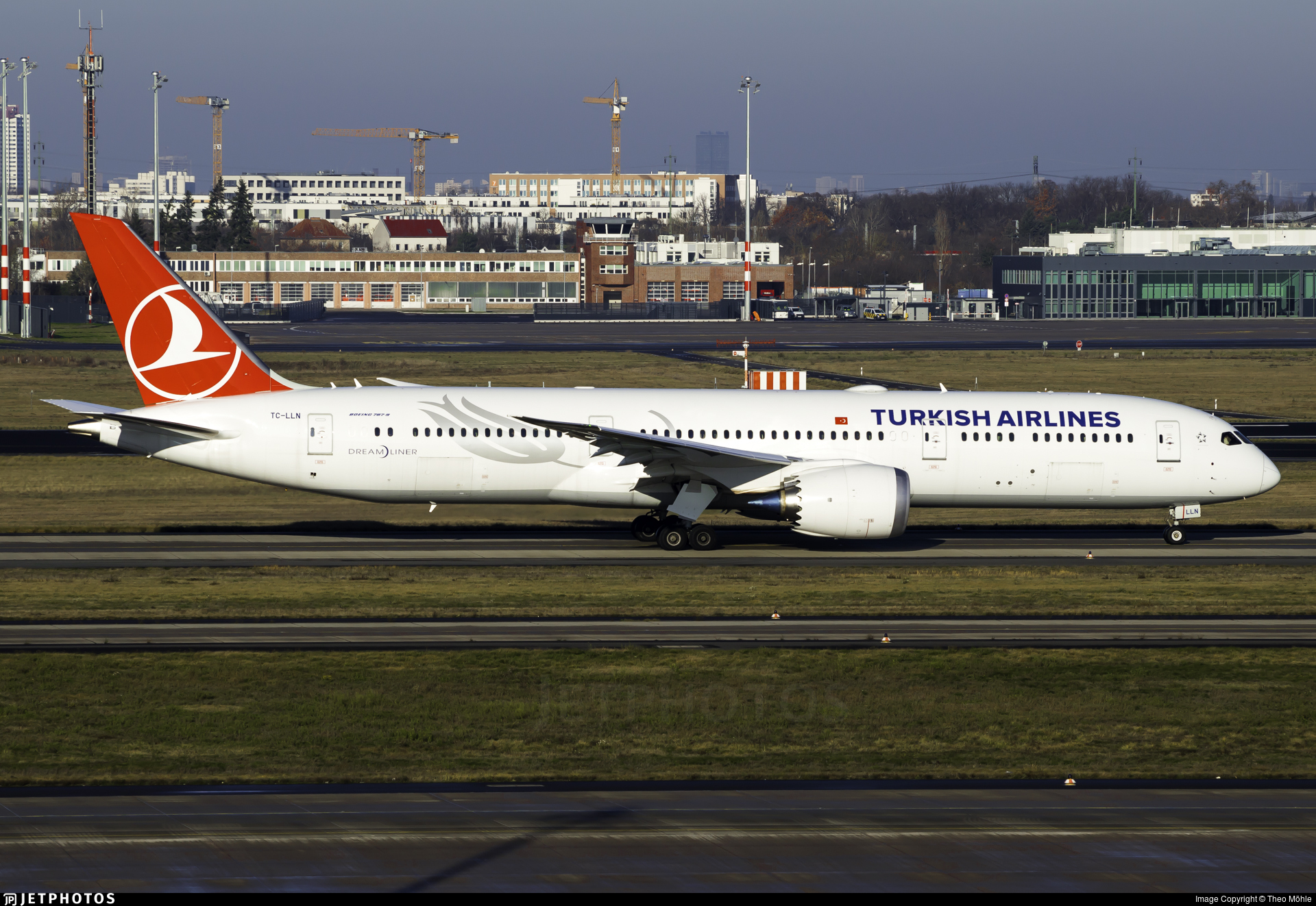 TC-LLN - Boeing 787-9 Dreamliner - Turkish Airlines