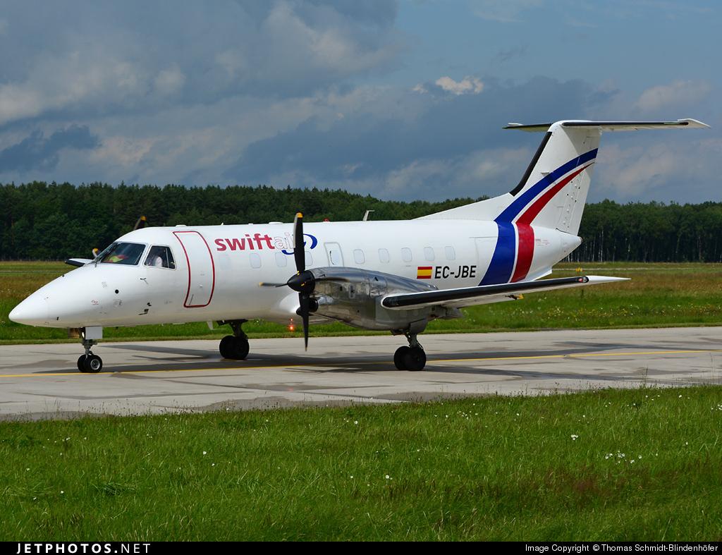 EC-JBE - Embraer EMB-120ER Brasília - Swiftair