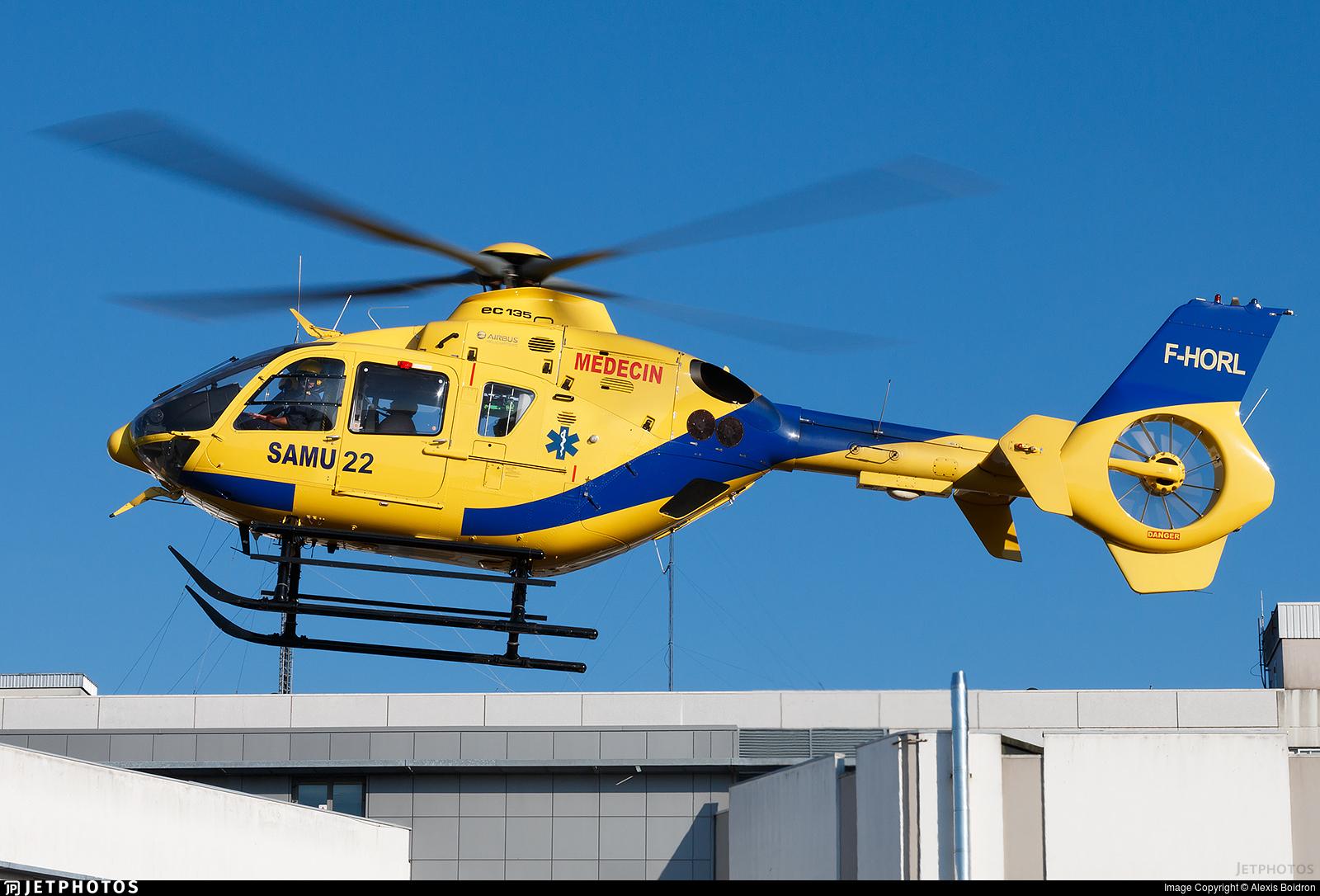 F-HORL - Eurocopter EC 135P2+ - Babcock MCS France