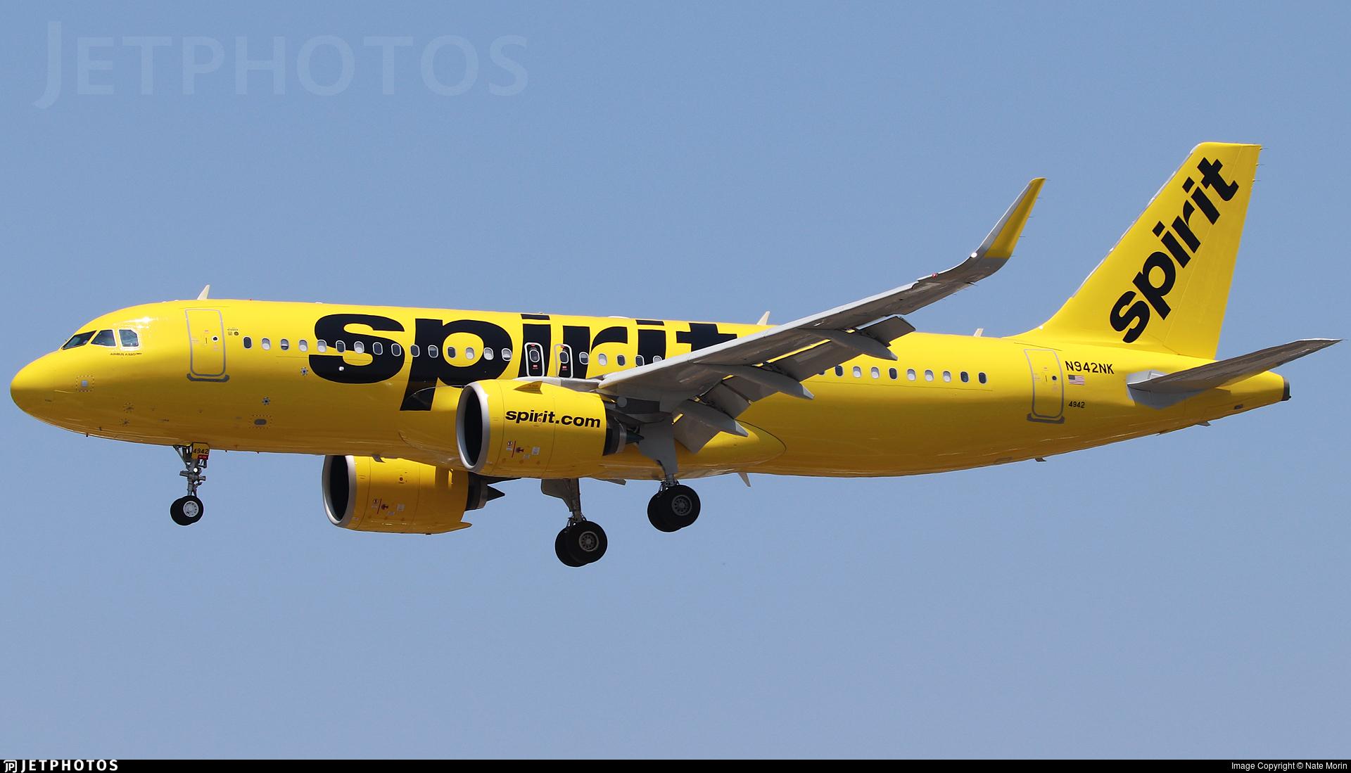 N942NK - Airbus A320-271N - Spirit Airlines