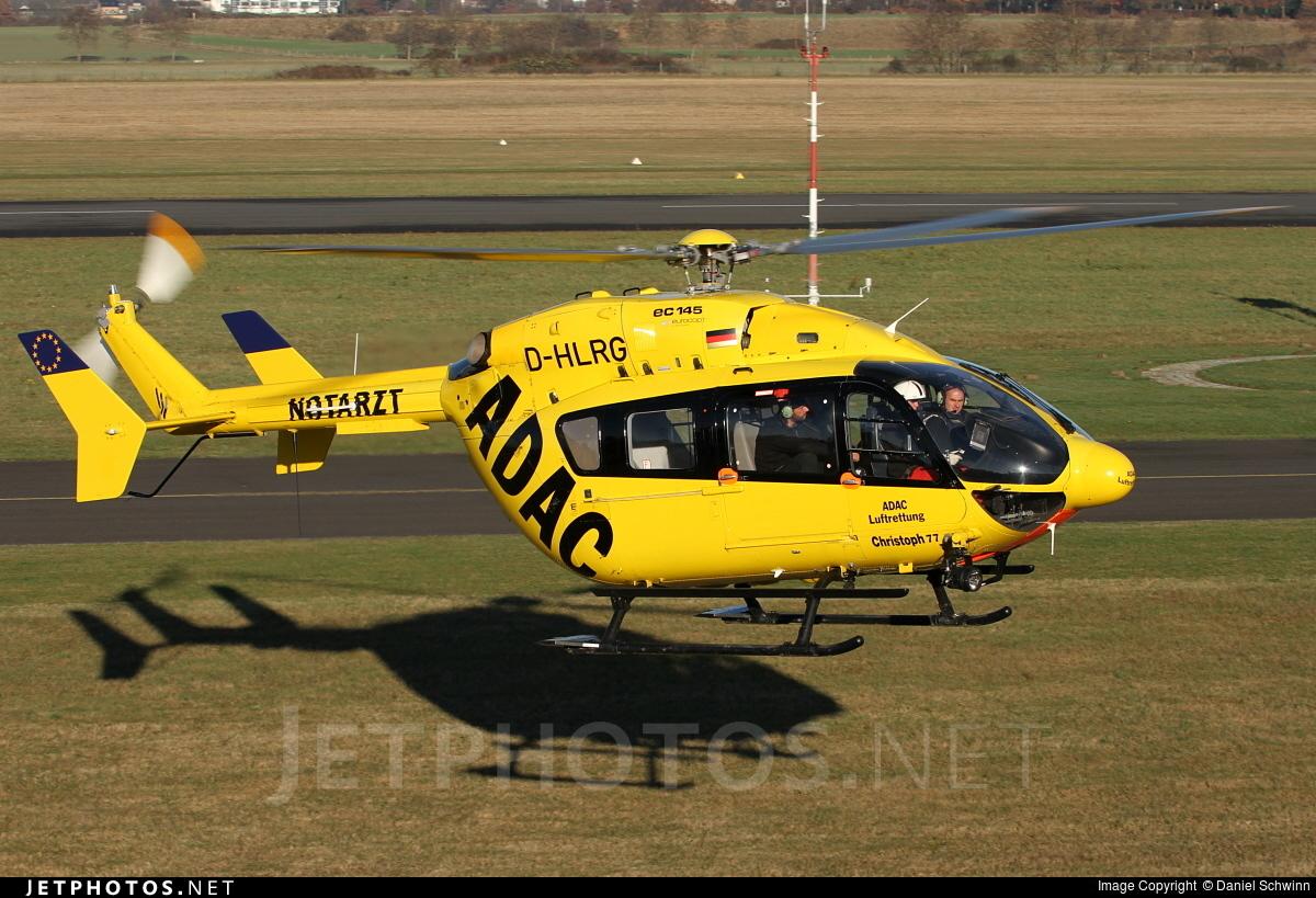 D-HLRG - Eurocopter EC 145 - ADAC Luftrettung