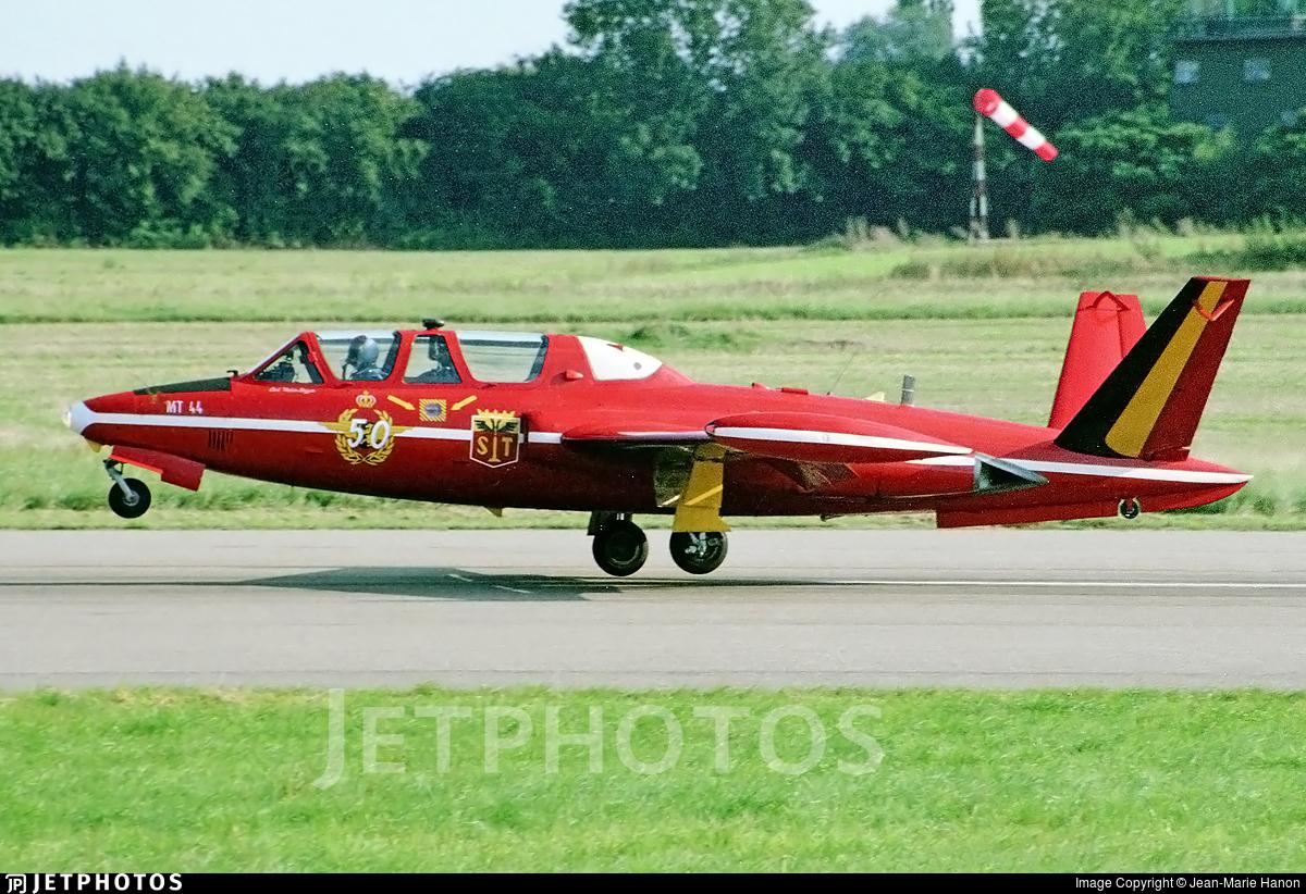 MT-44 - Fouga CM-170R Magister - Belgium - Air Force